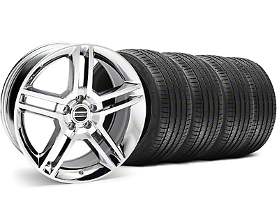 Chrome 2010 GT500 Wheel & Sumitomo Tire Kit - 18x9 (94-98 All)