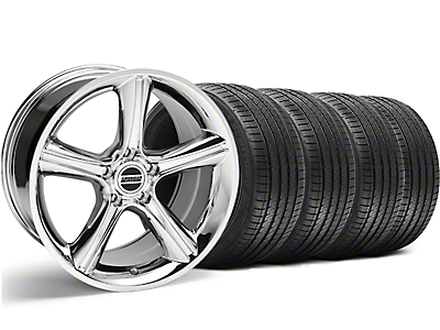 Chrome 2010 Style GT Premium Wheel & Sumitomo Tire Kit - 18x9 (94-98 All)