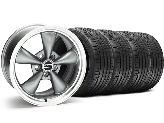 Bullitt Anthracite Wheel & Sumitomo Tire Kit - 17x9 (94-98 All)