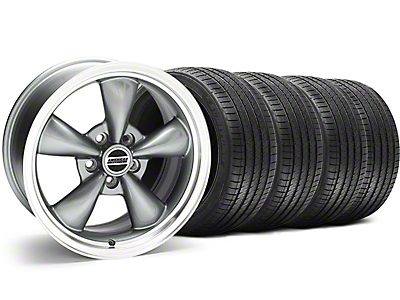Bullitt Anthracite Wheel & Sumitomo Tire Kit - 17x9 (94-98 All)