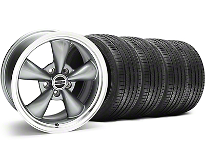 Anthracite Bullitt Wheel & Sumitomo Tire Kit - 18x9 (94-98 All)