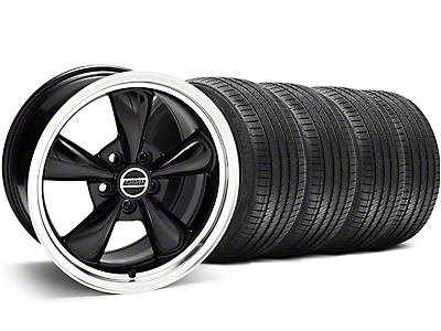 Bullitt Black Wheel & Sumitomo Tire Kit - 17x9 (94-98 All)