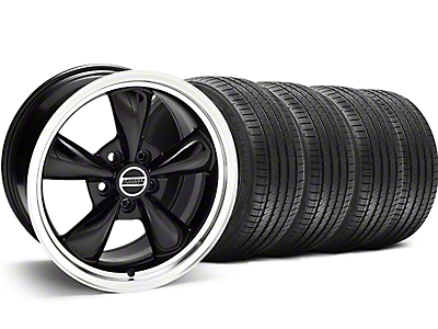 Black Bullitt Wheel & Sumitomo Tire Kit - 18x9 (94-98 All)