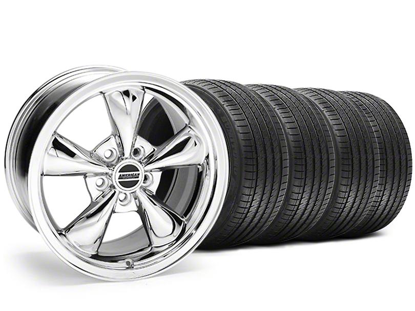 Bullitt Chrome Wheel & Sumitomo Tire Kit - 17x9 (94-98 All)