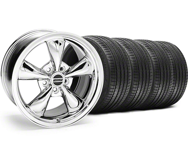 Bullitt Chrome Wheel & Sumitomo Tire Kit - 17x9 (94-98 All)
