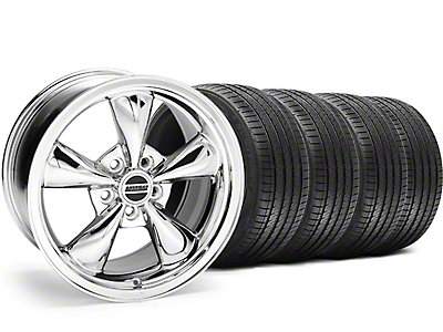 Chrome Bullitt Wheel & Sumitomo Tire Kit - 17x9 (94-98 All)