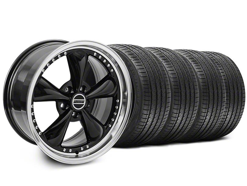 Bullitt Motorsport Black Wheel & Sumitomo Tire Kit - 18x9 (94-98 All)