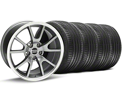 FR500 Anthracite Wheel & Sumitomo Tire Kit - 17x9 (94-98 All)