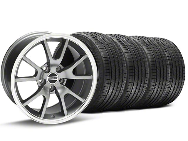 FR500 Style Anthracite Wheel & Sumitomo Tire Kit - 18x9 (94-98 All)
