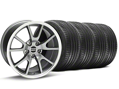 FR500 Style Anthracite Wheel & Sumitomo Tire Kit - 18x9 (94-98 All)