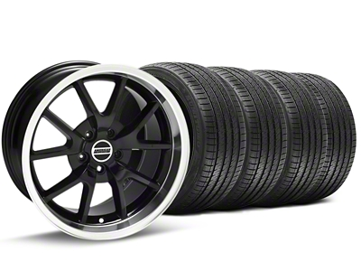 FR500 Style Black Wheel & Sumitomo Tire Kit - 17x9 (94-98 All)