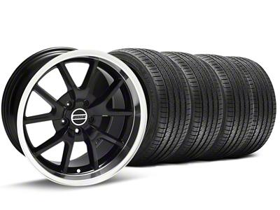 FR500 Style Black Wheel & Sumitomo Tire Kit - 17x9 (94-98 All)
