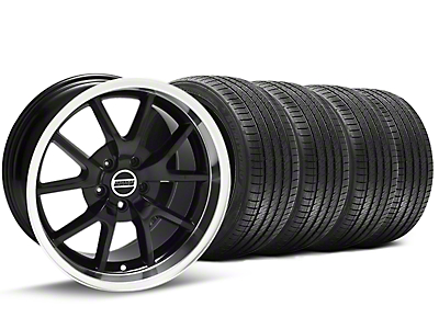 FR500 Black Wheel & Sumitomo Tire Kit - 17x9 (94-98 All)