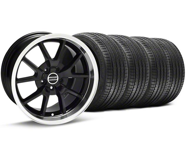 FR500 Style Black Wheel & Sumitomo Tire Kit - 18x9 (94-98 All)
