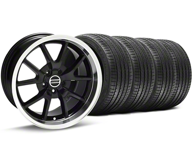 FR500 Style Black Wheel & Sumitomo Tire Kit - 18x9 (94-98 All)
