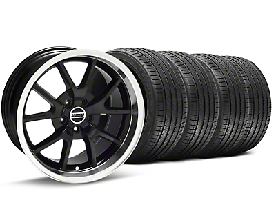 FR500 Black Wheel & Sumitomo Tire Kit - 18x9 (94-98 All)