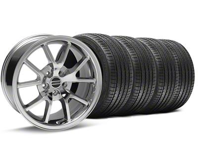 FR500 Style Chrome Wheel & Sumitomo Tire Kit - 17x9 (94-98 All)