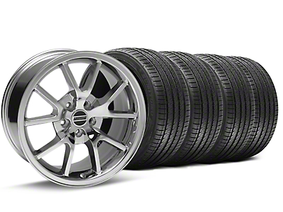 FR500 Chrome Wheel & Sumitomo Tire Kit - 17x9 (94-98 All)