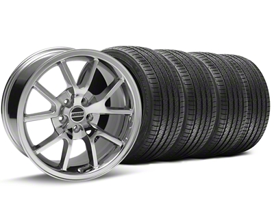FR500 Style Chrome Wheel & Sumitomo Tire Kit - 18x9 (94-98 All)