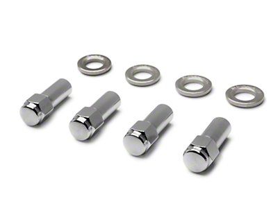 Weld Racing Closed-End Lug Nuts - Set of 4 (79-93)