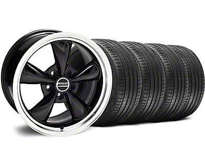 Staggered Black Bullitt Wheel & Sumitomo Tire Kit - 18x9/10 (94-98 All)