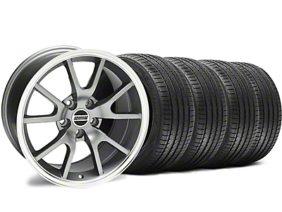 Staggered FR500 Anthracite Wheel & Sumitomo Tire Kit - 18x9/10 (94-98 All)