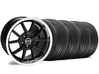 Staggered FR500 Style Black Wheel & Sumitomo Tire Kit - 18x9/10 (94-98 All)
