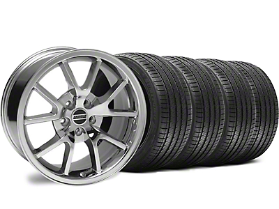 Staggered Chrome FR500 Wheel & Sumitomo Tire Kit - 18x9/10 (94-98 All)