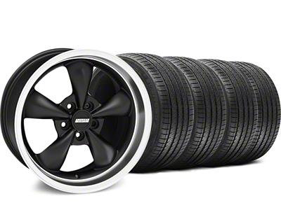 Bullitt Matte Black Wheel & Sumitomo Tire Kit - 18x9 (05-14 GT, V6)