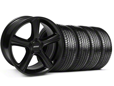 2010 GT Premium Style Black Wheel & Pirelli Tire Kit - 19x8.5 (05-14 GT, V6)