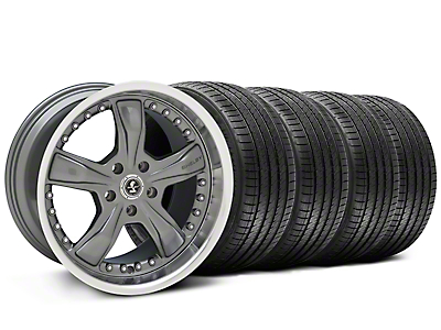 Shelby Razor Gunmetal Wheel & Sumitomo Tire Kit - 20x9 (05-14)