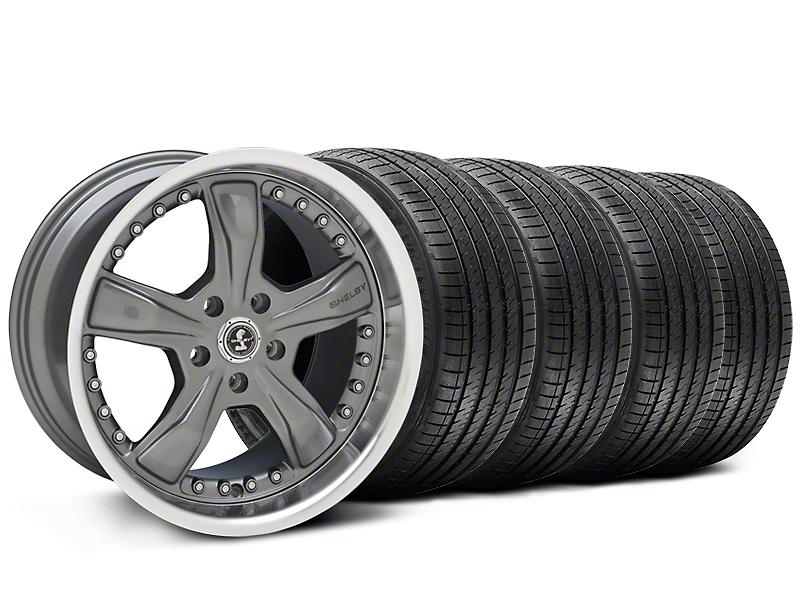 Shelby Razor Gunmetal Wheel & Sumitomo Tire Kit - 20x9 (05-14 GT, V6; 07-12 GT500)