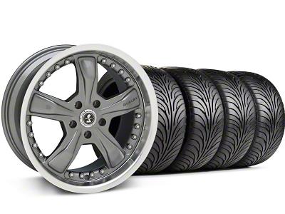 Shelby Razor Gunmetal Wheel & Sumitomo Tire Kit - 18x9 (94-98 All)