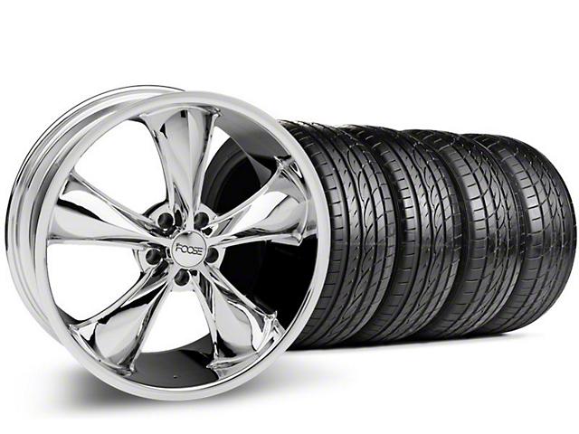 Foose Legend Chrome Wheel & Sumitomo Tire Kit - 20x8.5 (05-14 GT, V6)