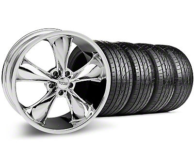 Chrome Foose Legend Wheel & Sumitomo Tire Kit - 20x8.5 (05-14 GT, V6)
