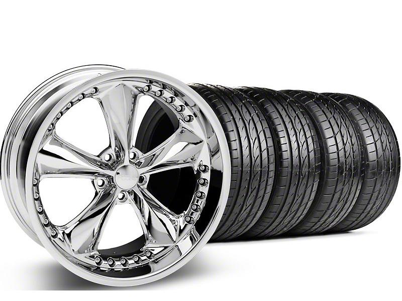Foose Nitrous Chrome Wheel & Sumitomo Tire Kit - 20x8.5 (05-14 GT, V6)