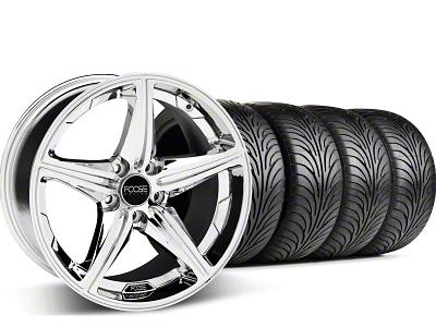 Foose Speed Chrome Wheel & Sumitomo Tire Kit - 18x9.5 (05-14 GT, V6)