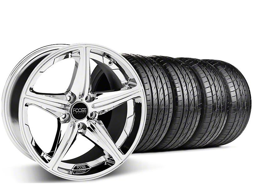 Foose Speed Chrome Wheel & Sumitomo Tire Kit - 19x9.5 (05-14 GT, V6)