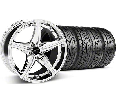 Foose Speed Chrome Wheel & NITTO Tire Kit - 20x8.5 (05-14 GT, V6)