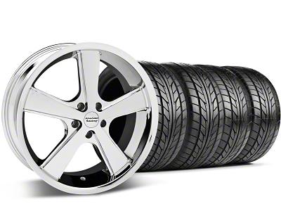 Nova Chrome Wheel & NITTO Tire Kit - 18x9 (94-98 All)