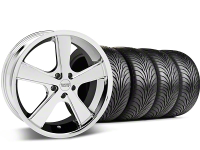 American Racing Nova Chrome Wheel & Sumitomo Tire Kit - 18x9 (99-04 All)