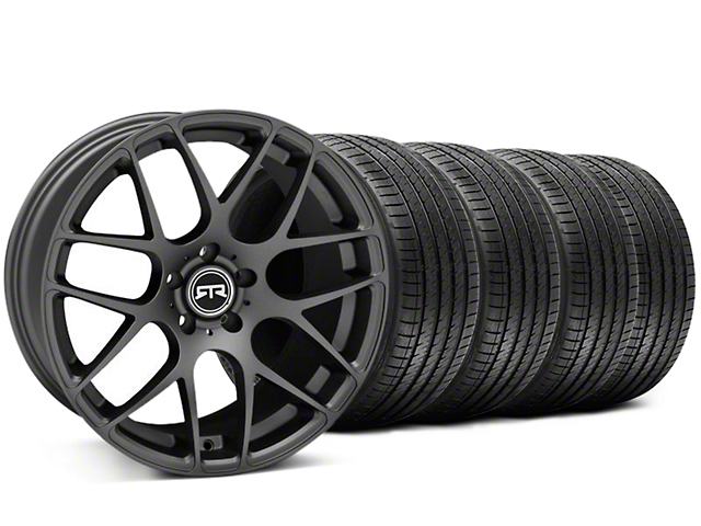 RTR Charcoal Wheel & Sumitomo Tire Kit - 19x9.5 (05-14 All)