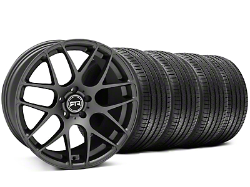 RTR Charcoal Wheel & Sumitomo Tire Kit - 19x9.5 (05-14 All)