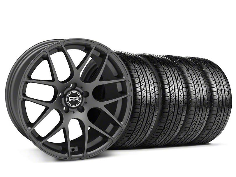 RTR Charcoal Wheel & Pirelli Tire Kit - 19x9.5 (05-14 All)
