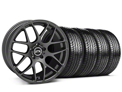 Charcoal RTR Wheel & Pirelli Tire Kit - 19x9.5 (05-14 All)