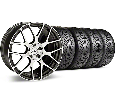 Gunmetal TSW Nurburgring Wheel & Sumitomo Tire Kit - 18x9 (05-14 All)
