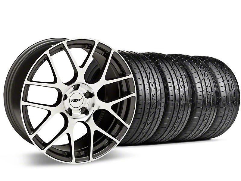 TSW Nurburgring Gunmetal Wheel & Sumitomo Tire Kit - 20x8.5 (05-14 All)