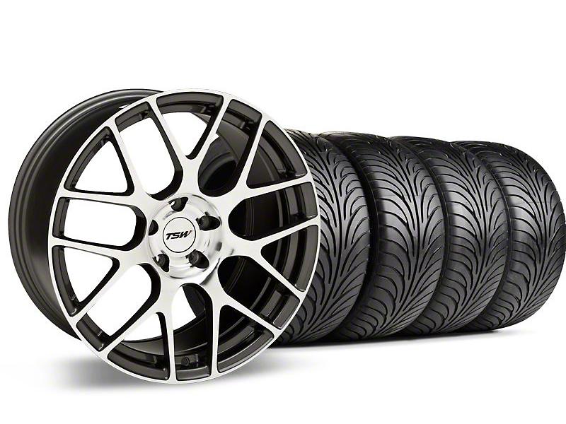TSW Nurburgring Gunmetal Wheel & Sumitomo Tire Kit - 18x8 (99-04 All)