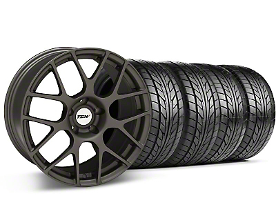 TSW Nurburgring Matte Gunmetal Wheel & NITTO Tire Kit - 18x9 (94-98 All)
