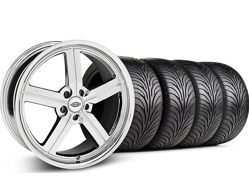Huntington Bolsa Chrome Wheel & Sumitomo Tire Kit - 18x9 (05-14 GT, V6)